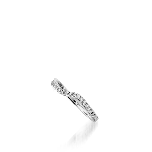 Rhapsody White Gold, Diamond Wedding Band
