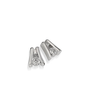 Venture White Gold Diamond Solitaire Earring