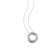 Load image into Gallery viewer, Endearment Large Pave Diamond Pendant Necklace