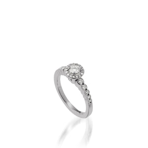 Dazzle Luminaire Diamond Ring