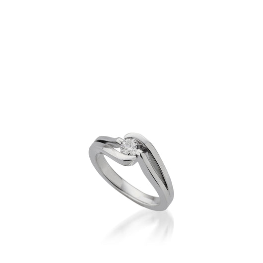 18 karat White Gold Bellissima Diamond Ring