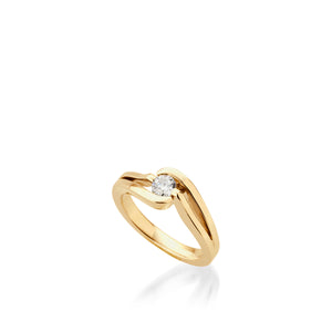 18 karat Yellow Gold Bellissima Diamond Ring