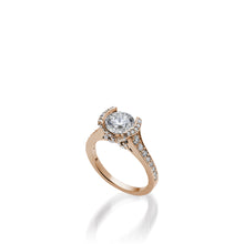 Load image into Gallery viewer, 18 karat Rose Gold Siena Diamond Engagement Ring