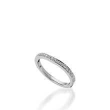 Load image into Gallery viewer, Siena White Gold,  Diamond Wedding Band