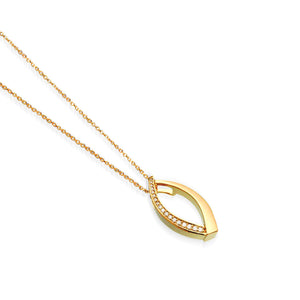 Paris Small Diamond Pendant Necklace