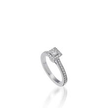 Load image into Gallery viewer, Satin Luminaire Diamond Ring