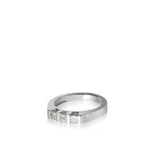 Load image into Gallery viewer, Women's 14 karat White Gold Devotion Anniversary Ring