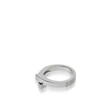 Load image into Gallery viewer, Women's 14 karat White Gold Pivot Plain Ring