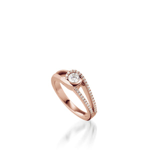 Reflection Luminaire Diamond Ring