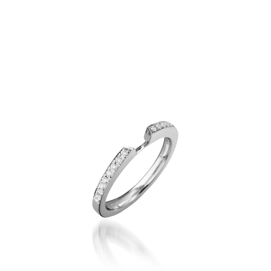 Tribute Diamond Wedding Band