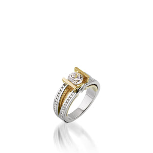 Attraction Engagement Ring
