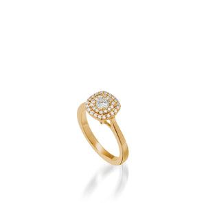 Chantilly Luminaire Diamond Ring