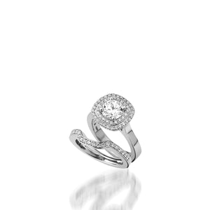 Chantilly Diamond Engagement Ring