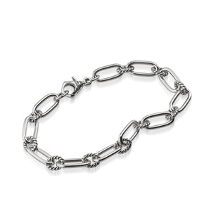 Women's Sterling Silver Antigua Chain Link Bracelet