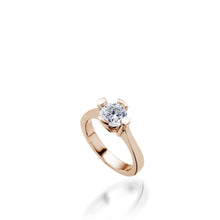 Load image into Gallery viewer, Flora Diamond Engagement Ring
