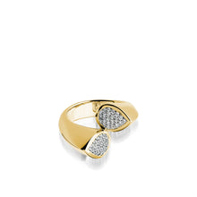 Load image into Gallery viewer, Gemini Pave Diamond Ring
