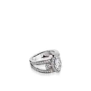 Victoria Elite Diamond Ring, 1 Carat Setting