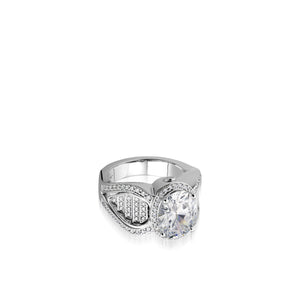Josephine Elite Diamond Ring, 3.5 Carat Setting