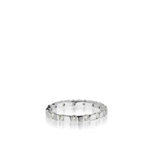 Load image into Gallery viewer, Women's 18 karat white gold Orion Diamond Stack Ring