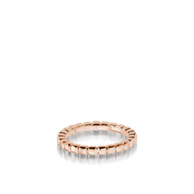 Load image into Gallery viewer, Women's 18 karat rose gold Encore Gold Stack Ring
