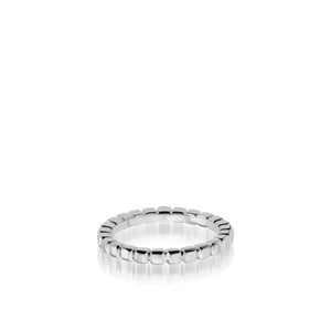 Women's 18 karat white gold Encore Gold Stack Ring