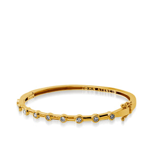Women's 14 karat yellow gold Paloma Diamond Cuff Bracelet