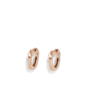 Essence Single Rose Gold Hoop Earrings