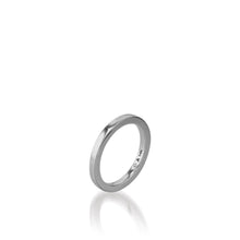 Load image into Gallery viewer, Essence White Gold Stack Ring