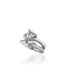 Load image into Gallery viewer, Azure Engagement Ring, 1 Carat Setting