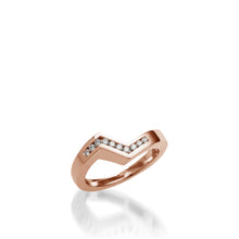 Load image into Gallery viewer, Decision Rose Gold Wedding Band