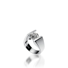Load image into Gallery viewer, 18 karat White Gold Techla Diamond Engagement Ring