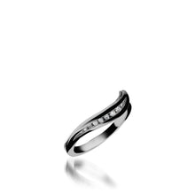 Load image into Gallery viewer, Apropos White Gold, Plus Diamond Wedding Band