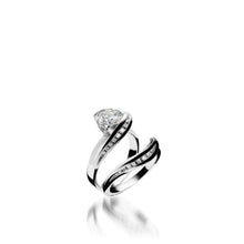 Load image into Gallery viewer, White Gold Apropos Plus Engagement Ring