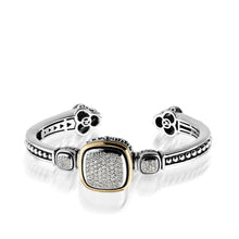 Load image into Gallery viewer, Chorus Pave Diamond Cuff Bracelet