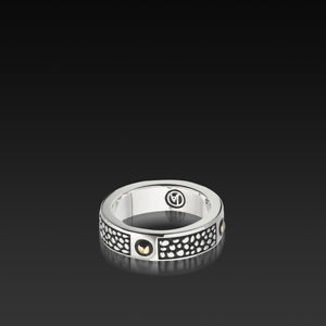 Matrix Men's Sterling silver Ring