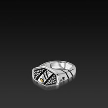 Load image into Gallery viewer, Sterling silver Matrix Men's Ring