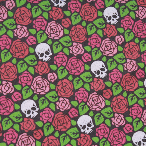 Premium Quilting Cotton, Skulls, Halloween Range