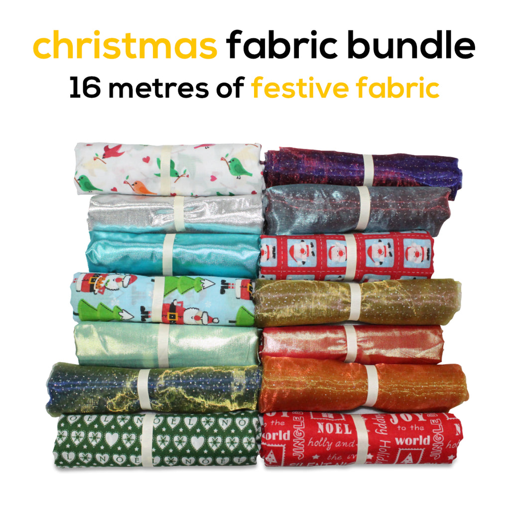 Crazy Christmas 16 Metre Fabric Bundle