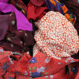1kg Mixed Remnants Fabric Bag- Huge Variety