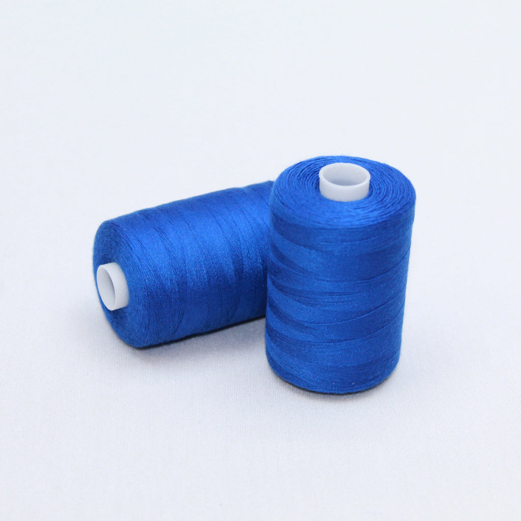 2 x 1000m Sewing Threads 'Sapphire Blue'