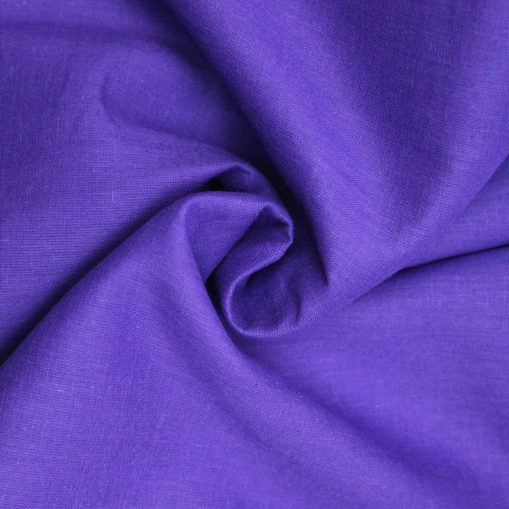 "Soft Cotton Muslin - Purple 44"" Wide"