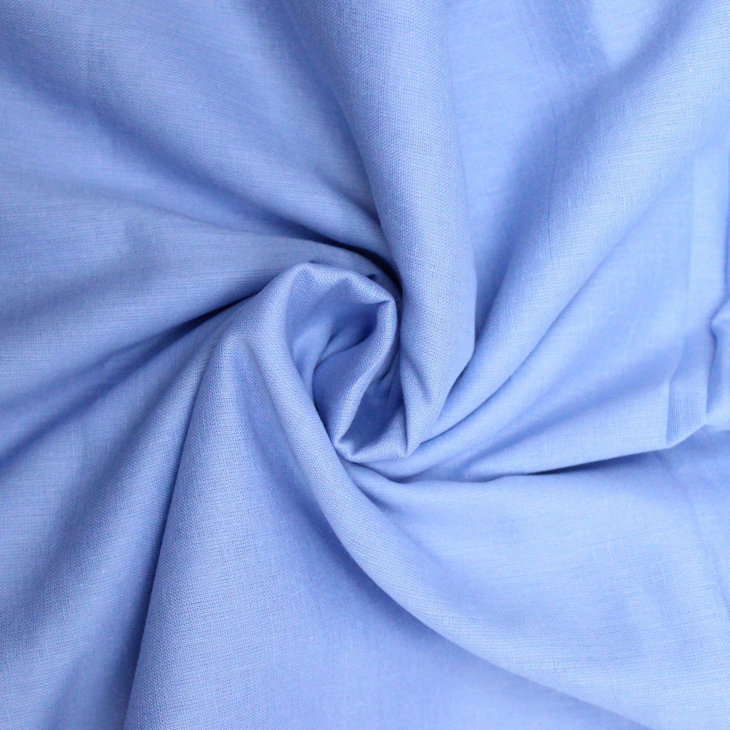 "Soft Cotton Muslin - Hyacinth 44"" Wide"