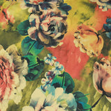 "Butterfly Floral Polycotton Fabric 45""- 4 Colours"