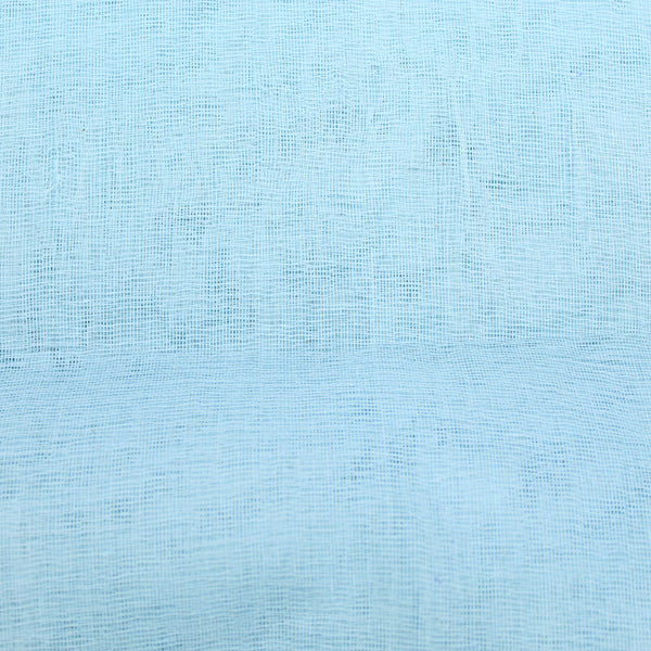 10FOR5 Cotton Muslin Stiff Finish - 'Baby Blue' 42