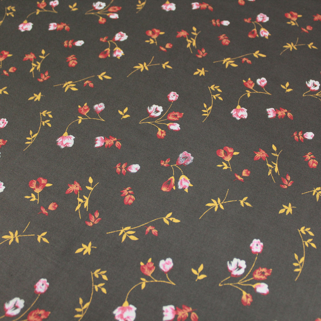 "100% Cotton Poplin - Houndstooth Print 44"" Wide"