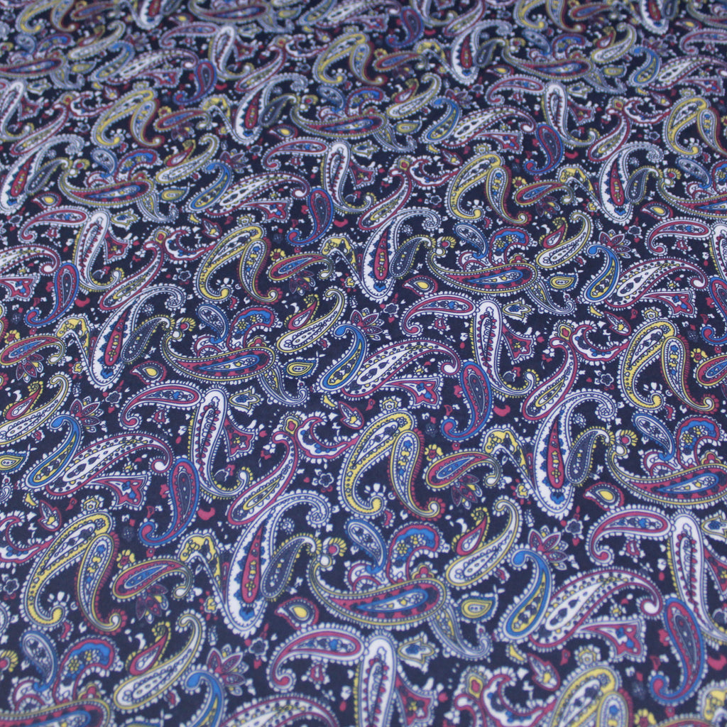 "Cotton Blend Woven Jersey Fabric - Stripes 60"" Wide"