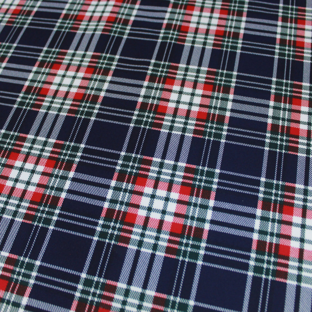 "Cotton Blend Jersey- Black Stripe Fabric  60"" Wide"