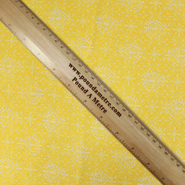 Heavyweight Havana Satin Fabric Tropical Print Premium Quality- 60