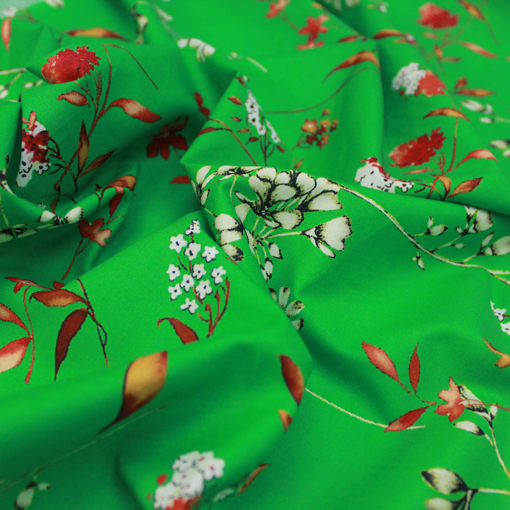 "Ribbed Poly Jersey Stripes Fabric 60"" Wide Premium Quality"