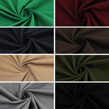 "Premium Scrubs Poly-Cotton Drill Fabric- 8 Colours 60"" Wide NHS Grade"